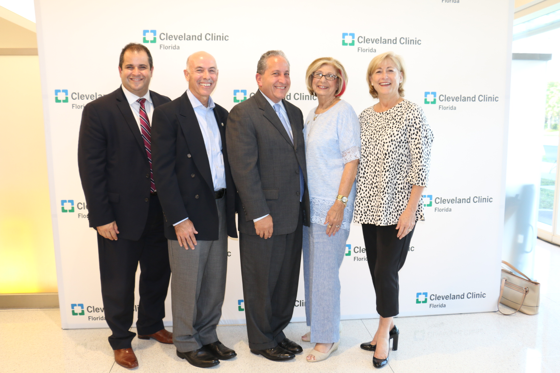weston city commission with cleveland clinic florida ceo ozzie delgado