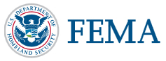 FEMA and National Flood Insurance Prgrm Logo(s) - Stacked