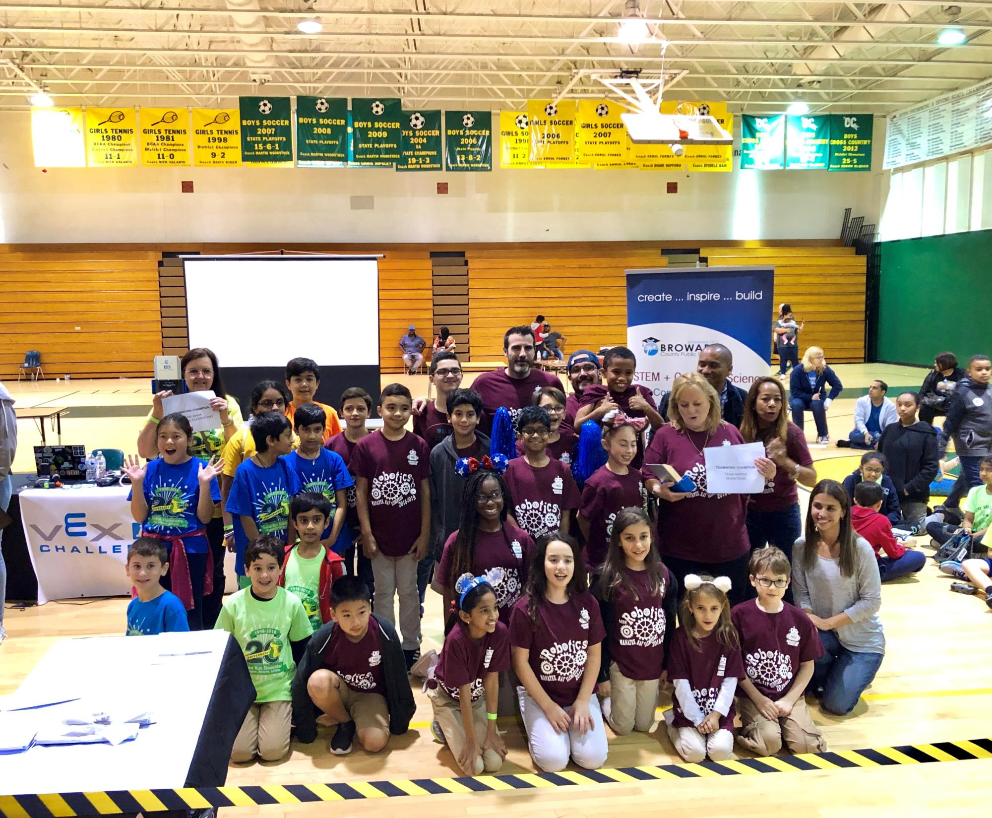 Gatorbots from Gator Run Elementary at SECME STEM Olympiad 2019