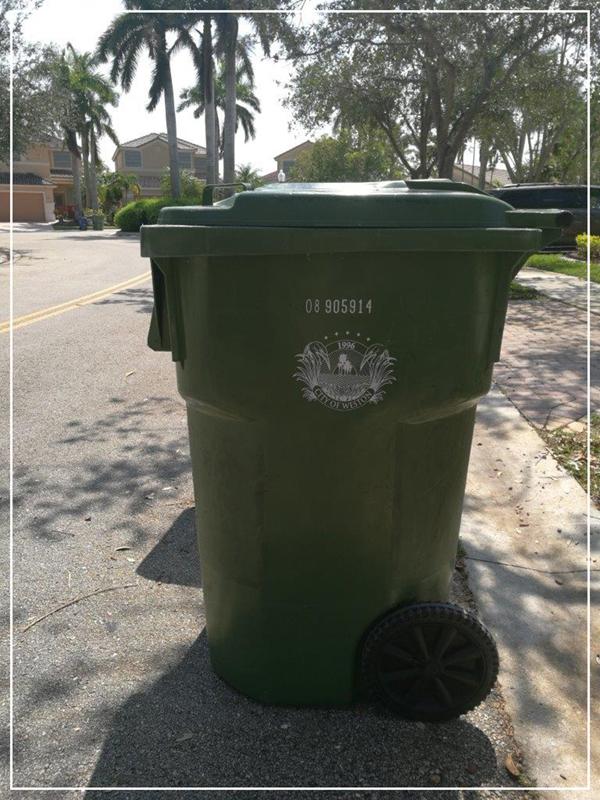 Garbage Service   City of Weston, FL