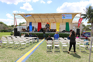 Weston Regional Park Event Stage