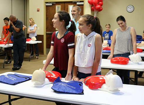 Weston Community CPR Day