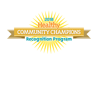 Healthy Weight Community Champion 2018