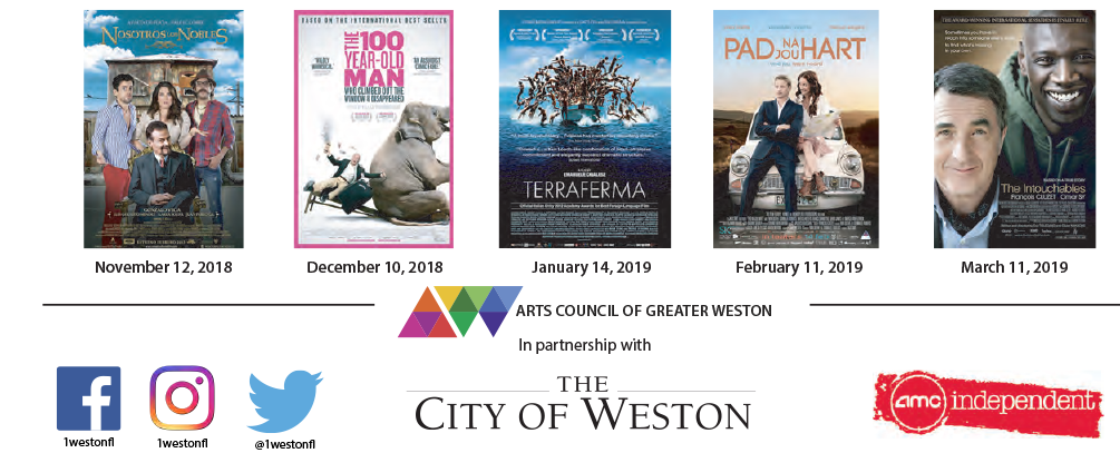 2018-2019 Weston Foreign Film Series films and dates