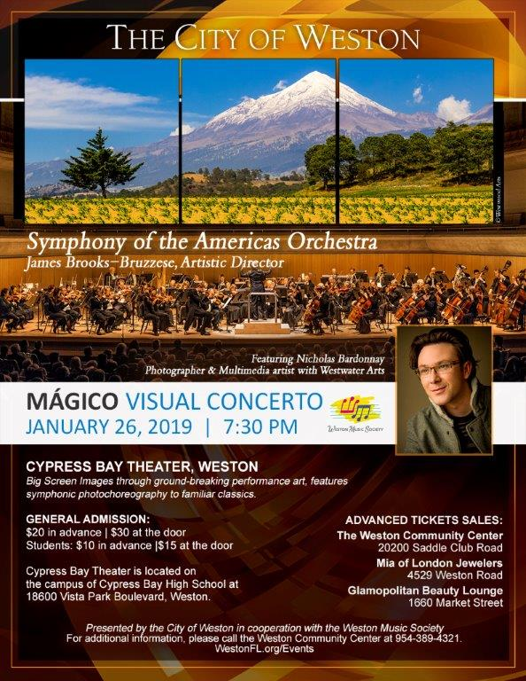 Symphony of the Americas Orchestra Flyer
