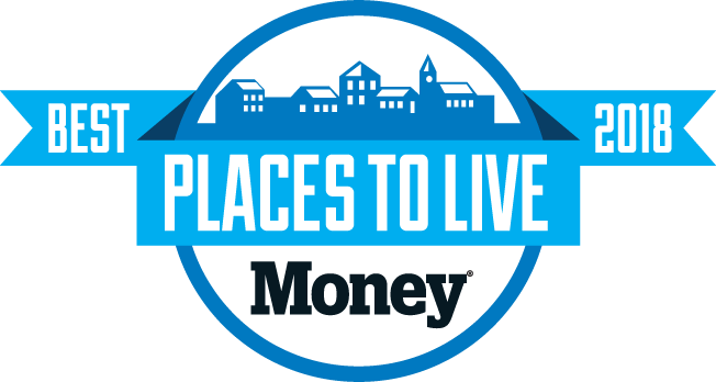 Best Places to Live 2018 Logo Money Magazine