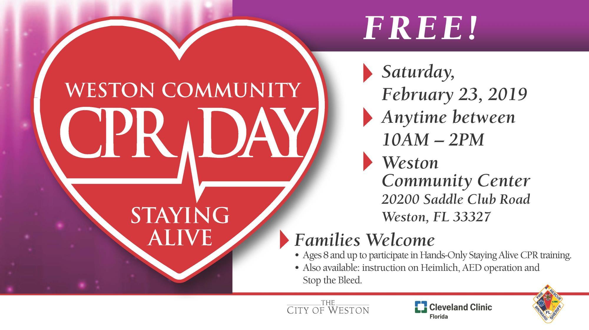 Community Programs City Of Weston Fl