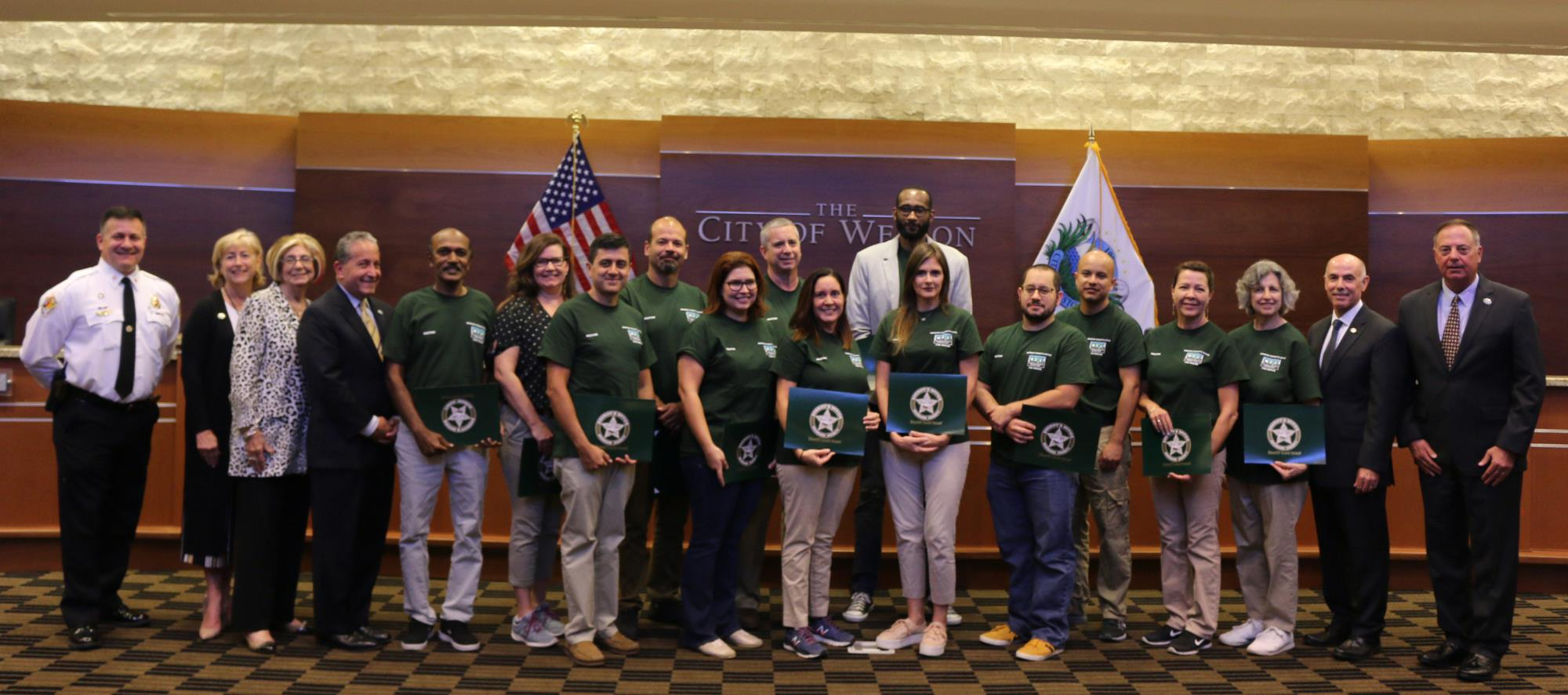 Commission CERT Graduation - Sept. 12, 2018