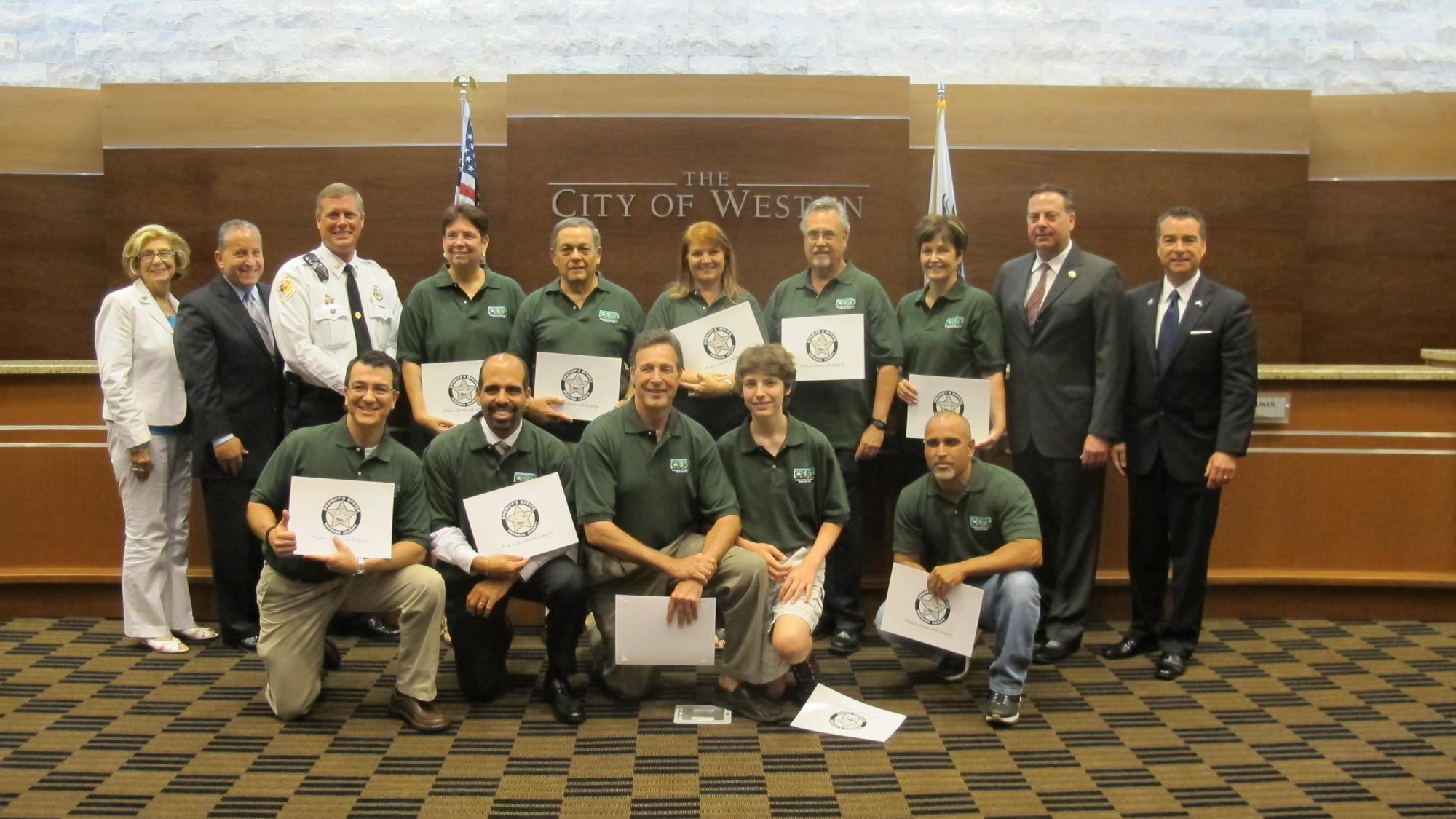 CERT Graduation - June 17, 2013