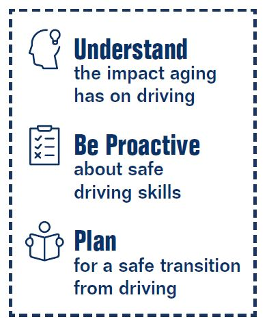 Impact of aging on driving statement