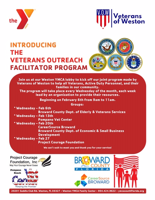 Veteran Outreach flyer
