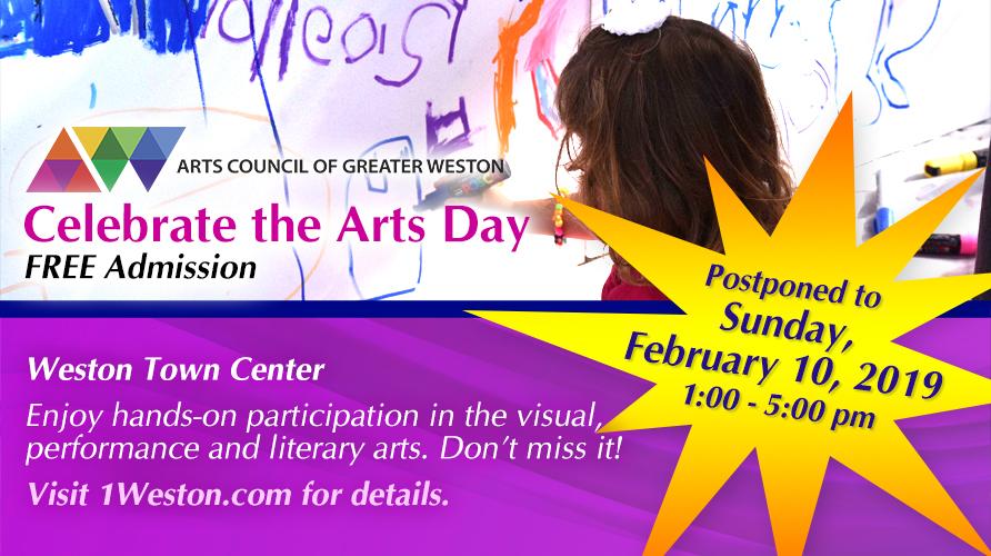 Celebrate the Arts Day | Events Calendar | City of Weston, FL