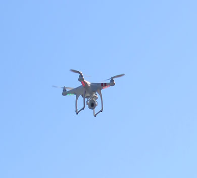 FPL Assessing Equipment using Drones