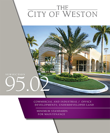Weston Commercial - Industrial Maintenance Brochure (Thumbnail)