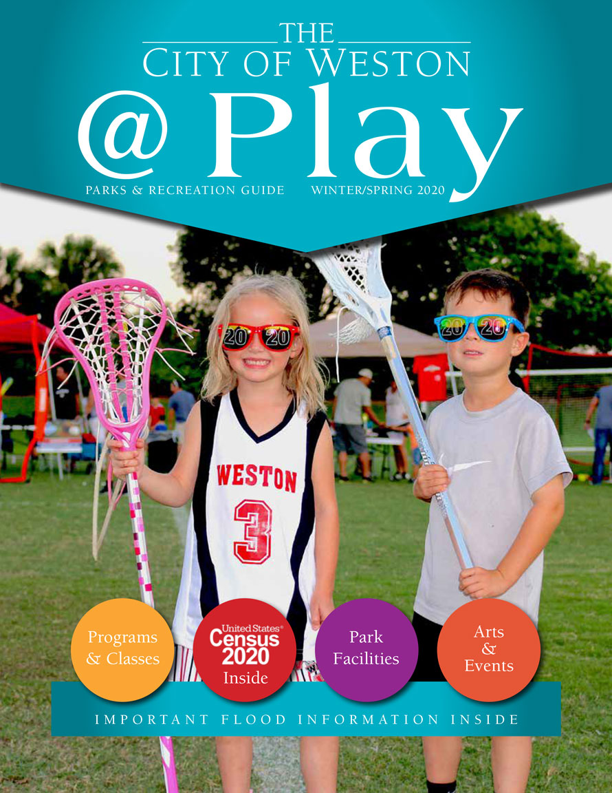 2019 Fall Weston @Play Parks Guide Digital Cover Page