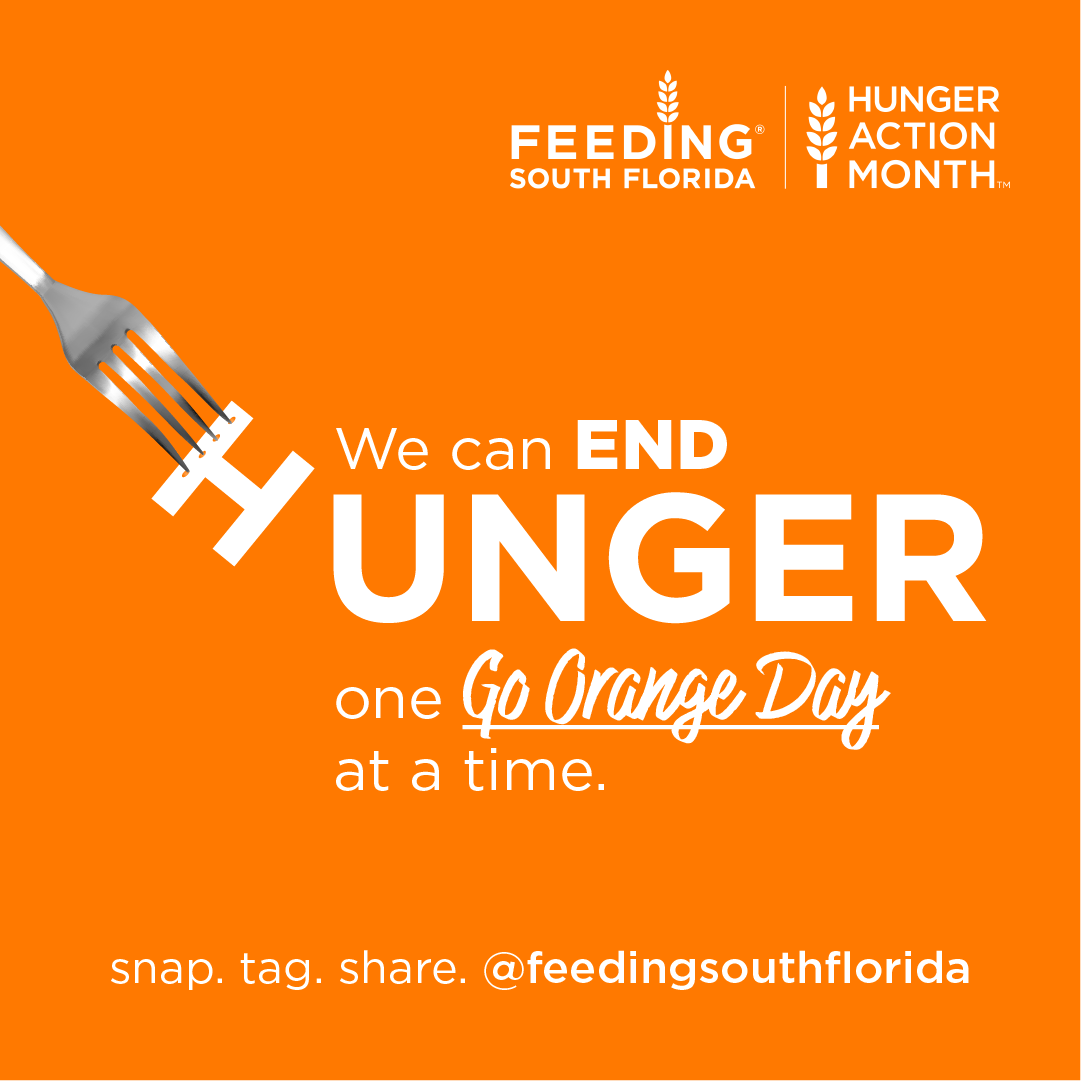 Go Orange: Hunger Action Month