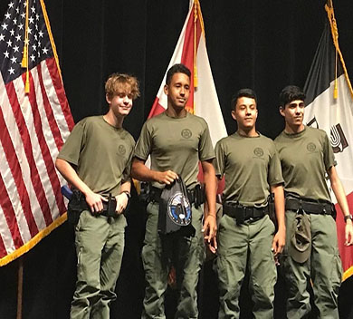 BSO Weston Student Explorers Test Their Skills