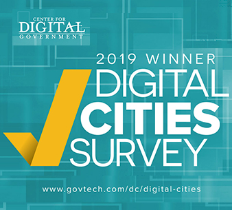 2019 Digital Cities Survey First Place Winner!