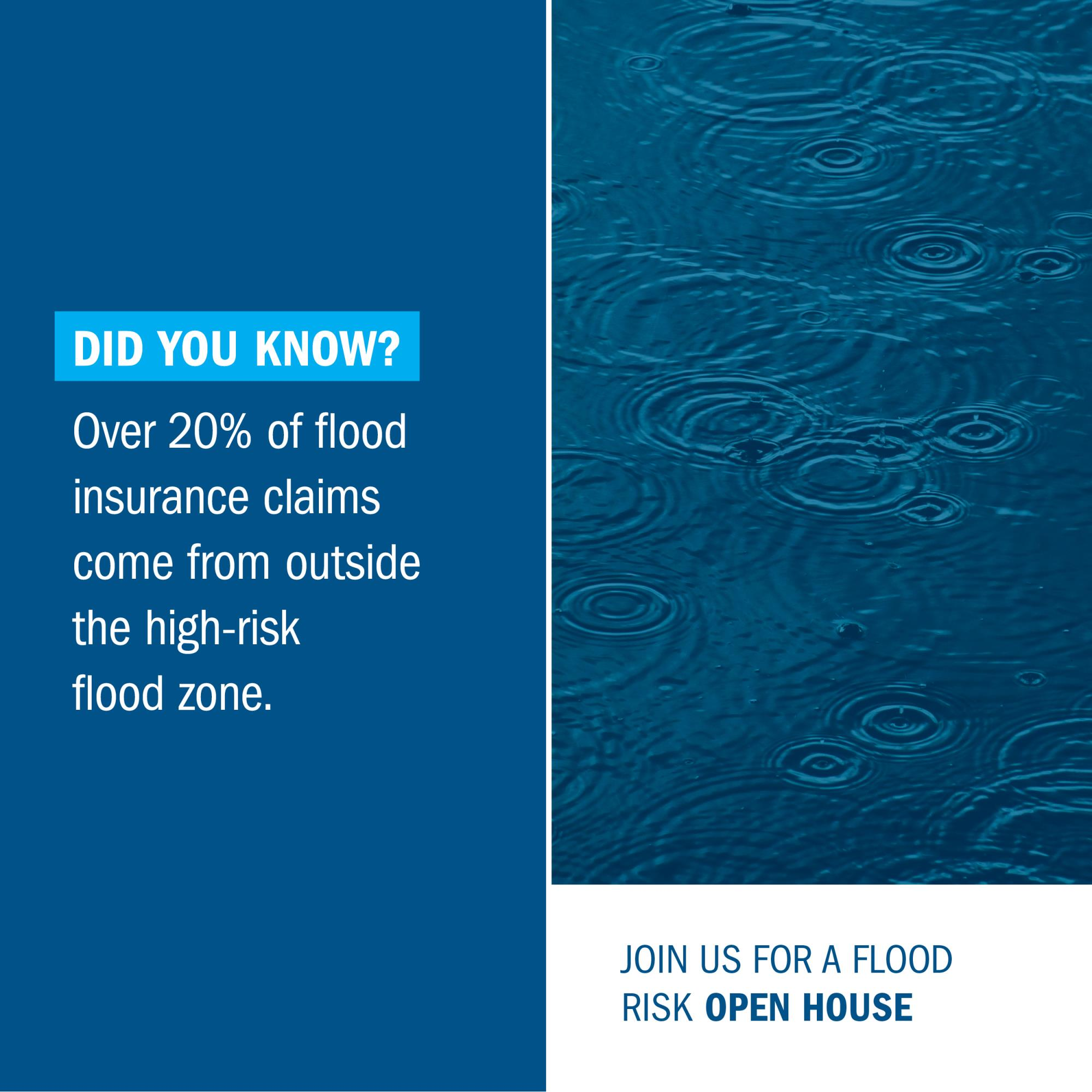 County Flood Maps Are Changing - Attend a Public Flood Risk Open House
