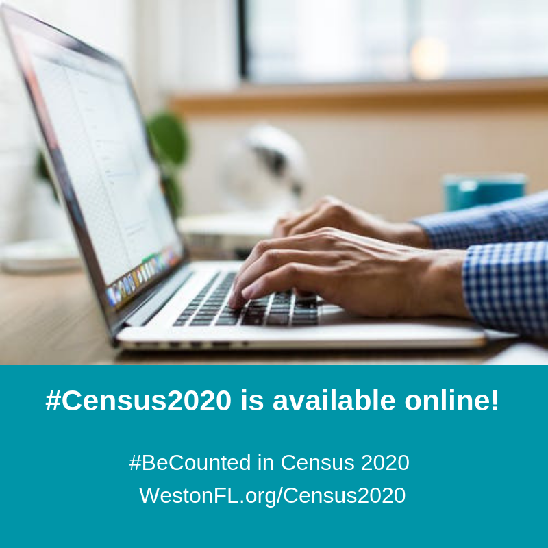 Census 2020 is available online! Be Counted in Census 2020