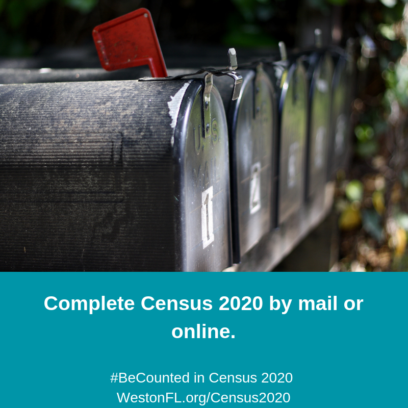 Complete Census 2020 by mail or online