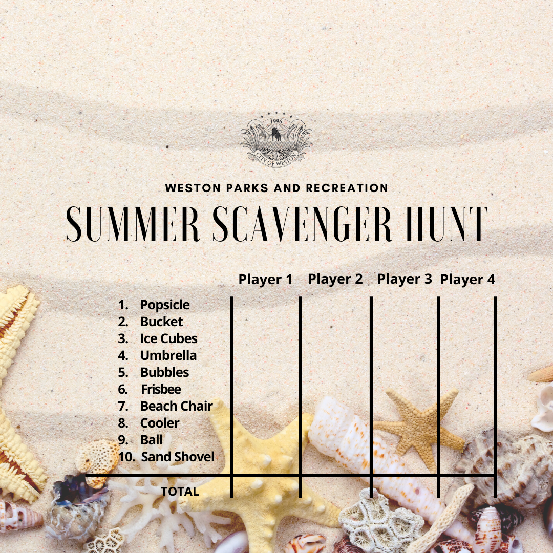 Outdoor Scavenger Hunt