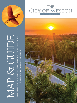 City of Weston Map and Guide 2017-2018 (Cover)