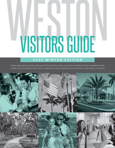 City of Weston Visitors Guide Spring 2018 Edition (Cover)