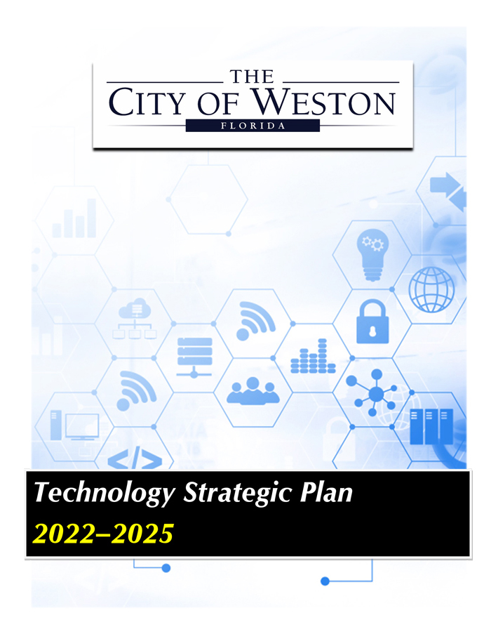 Technology Strategic Plan Cover Page