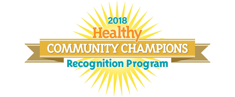 Florida Healthy Community Champions logo