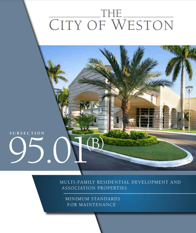 Weston HOA Standards Brochure