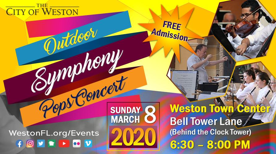 Outdoor Pops Concert 2020 - Bulletin